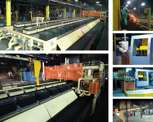 Automated Molding Line